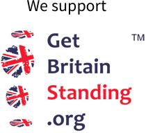 Get Britain Standing logo